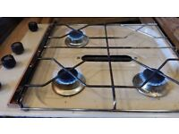 Caravan Spinflo 3 ring hob with grill
