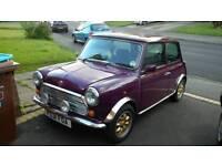 Classic Mini Mayfair low mileage completely rebuilt