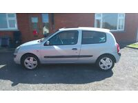 2004 RENAULT CLIO 1.5 DCI (£30 TAX PER YEAR)
