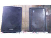 PROSOUND PSP15 DJ SPEAKERS