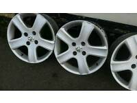 Peugeot 17 inch alloys
