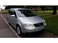 2005 Volkswagen Touran 1.9 TDI SE 5dr (7 Seats) HPI Clear Service History One Owner @07725982426 @
