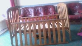 2 X BABY CHILDS DROP SIDE COTs JUNIOR BEDS BY JOHN LEWIS