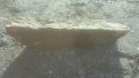 Granite lintel (blue)
