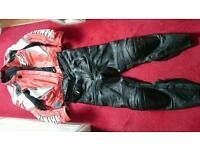 Yamaha R lookwell race leathers trousers jacket