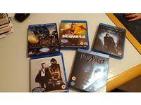 Blurays x5 Die Hard 4.0 / Casino Royale / Harry Potter / Dark Knight / Transformers