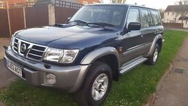 Nissan Patrol GR 3.0 DI SVE (TOP OF THE RANGE!) 2 Owners 2003
