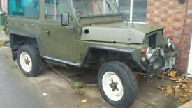 Lightweight landrover and sankey trailer