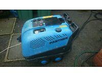 Panther diesel steam cleaner