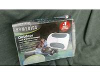 Homedics outdoor foot & calf massager