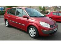 7 seater. 2005 Renault grand scenic 1.6. Perfect drive
