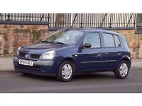 2005 Renault Clio 1.2 Expression 5 Door Hatchback, Full Service History, Long MOT, Must See!