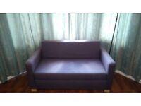 Grey sofa bed IKEA