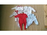 Baby boy clothes bundle 0-3 months used (49 items)