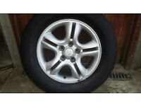 Full set of Kia Sportage Alloy Wheels