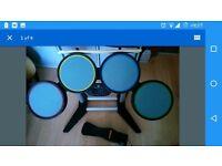 Rockband drum kit ps3 guitar hero