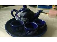 Oriental Teapot with cups