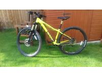 Absolutely mint condition VOODOO BIZANGO MOUNTAIN BIKE