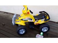Injusa Rally Extreme battery operated quad bike.