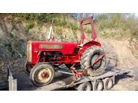 International 414 tractor start runs ideal vintage