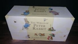 the world of peter rabbit book collection beatrix potter complete 1-23 box set