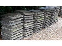 Concrete Slabs - 120 Used - Mixed 450 x 450 mm & 450 x 600 Free for Collection Only