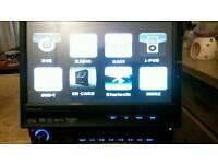 "7"" LCD in Dash Car DVD Player GPS"