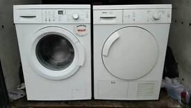 Bosch washing machine and condenser dryer