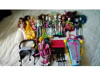 Monsters high dolls & accessories