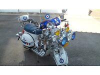 LML scooter ,Vespa PX lookalike
