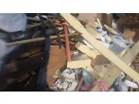 Insulation offcuts and quantity of wood