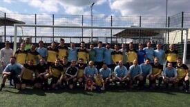 Saturday Mens 11-a-side team - GK & CB Needed