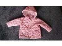 Next baby girl coat 6-9 months