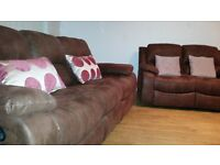 Harveys Brando 2 and 3 seater sofas in perfect condition