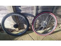 Mountain bime 26inch wheels