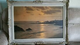Large seascape picture 42.5 x 31 inches