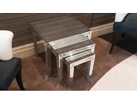 Silver Lining Glass Coffee Table RRP £695
