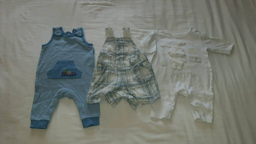 0-3 months Boys Summer Clothes