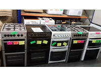 RECONDITONED Cookers Gas & Electric........ WITH WARRANTY...From £149... Local Delivery.....