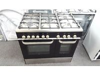 New graded kenwood 90cm range cooker full gas for sale in Coventry 12 month warranty