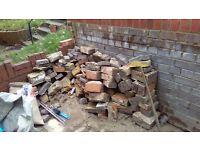 Free hardcore broken bricks