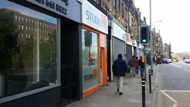 EDINBURGH SHOP TO RENT £600/MTH LONDON ROAD - HIGH VISIBILITY