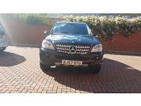 Mercedes ML 280 ED-S-CDI 4_Matic 2987 CC Free next service in Mercedes (7990£)