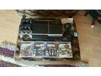 PS3 in good condition + 3 controllers + 4 games + can deliver Newcastle/Gateshead area