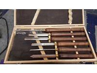 Wood Turning Tool Set
