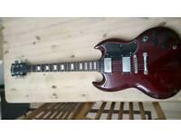 SG copy electric guitar