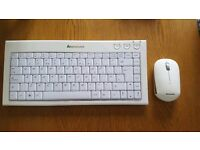 Wireless Lenovo keyboard and mouse