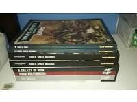 Warhammer 40k codexs and rule books