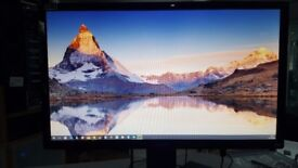 ASUS VG248QE 24 INCH : 144Hz LCD GAMING MONITOR : *** N-VIDIA G-SYNC UPGRADE KIT FITTED ***