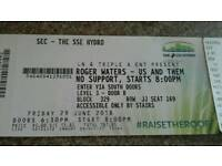 2 Rodger Waters tickets SSE hyro - 29thJune